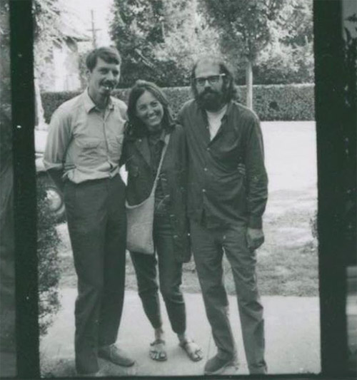 Robert Creeley, Bobbie Louise Hawkins and Allen Ginsberg
